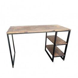 Письменный стол из дерева и металла - DETROIT