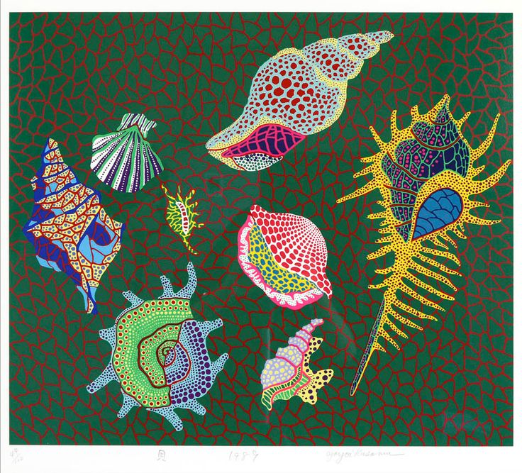 Shellfish | From a unique collection of prints and multiples - Yayoi Kusama