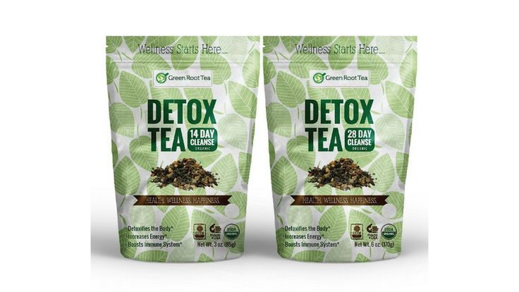 Organic Detox Tea Slimming