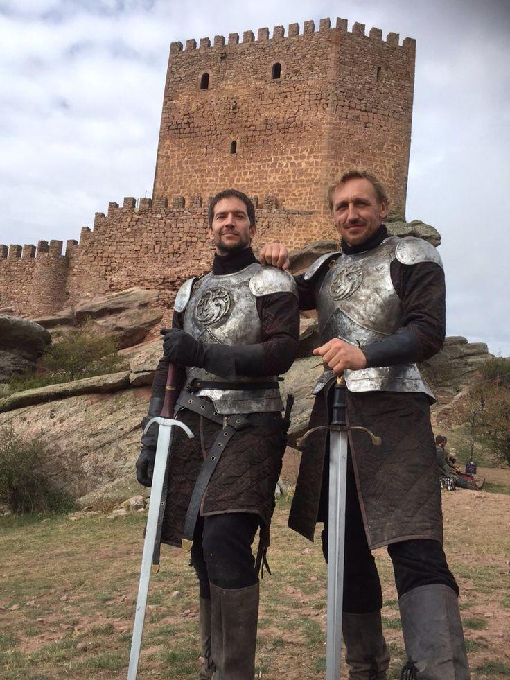 Game of Thrones: Luke Roberts and Eddie Eyre