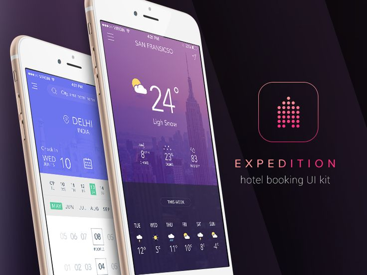 Expedition - Hotel Booking UI Kit