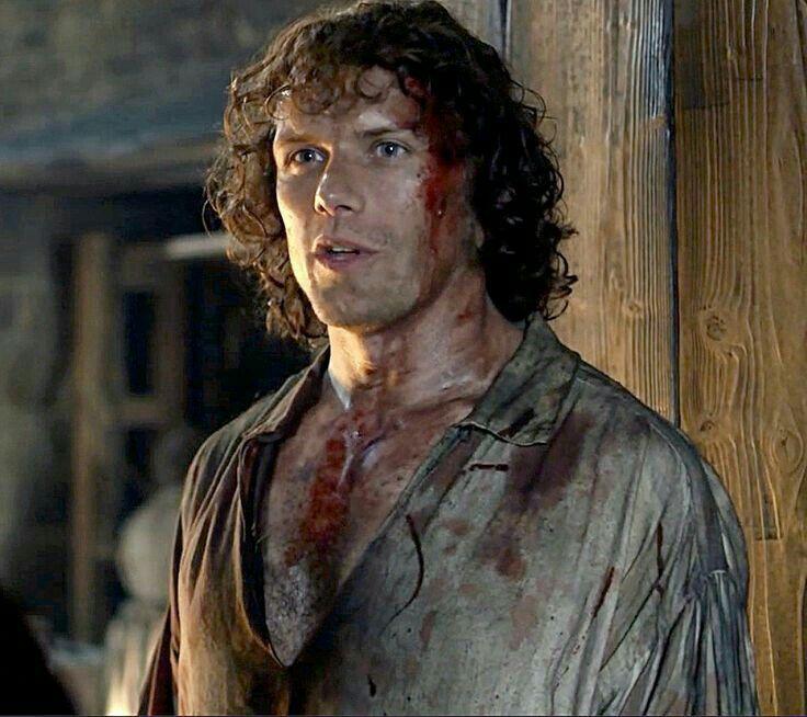 """Jamie Fraser in """"Prestonpans"""""""