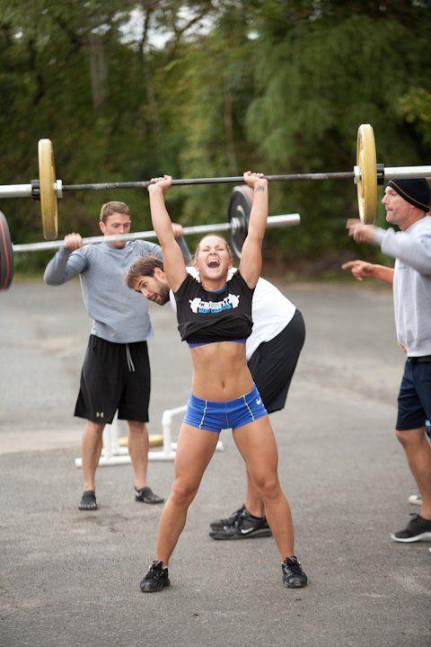 push press - CrossFit. WODshop.com