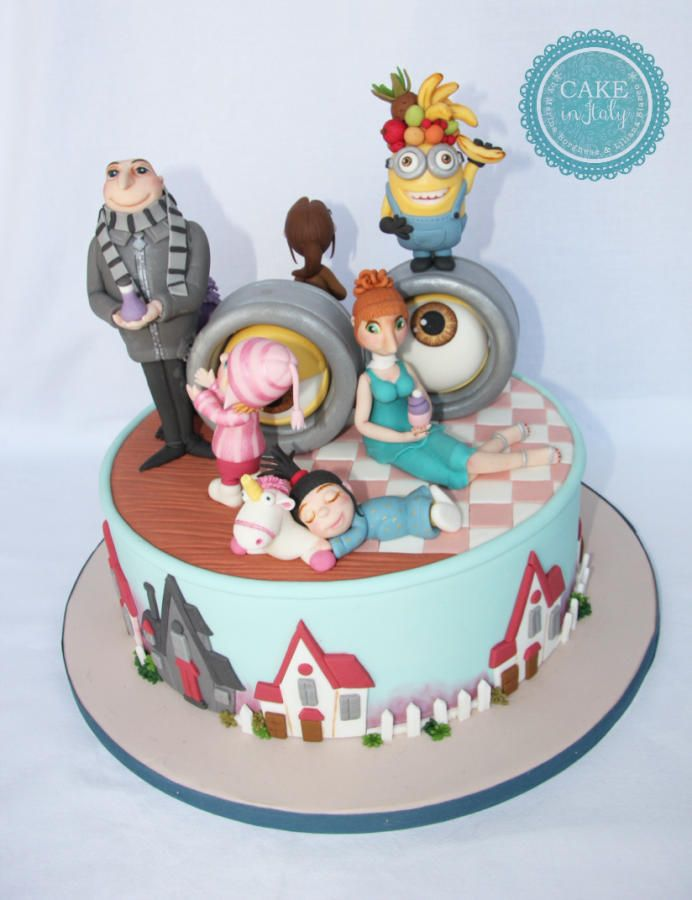 Despicable Me - Cake by Cake in Italy