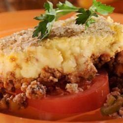 Chilean Potato Pie (Pastel de Papas) Recipe.  This is delicious,  we used turkey instead of beef.
