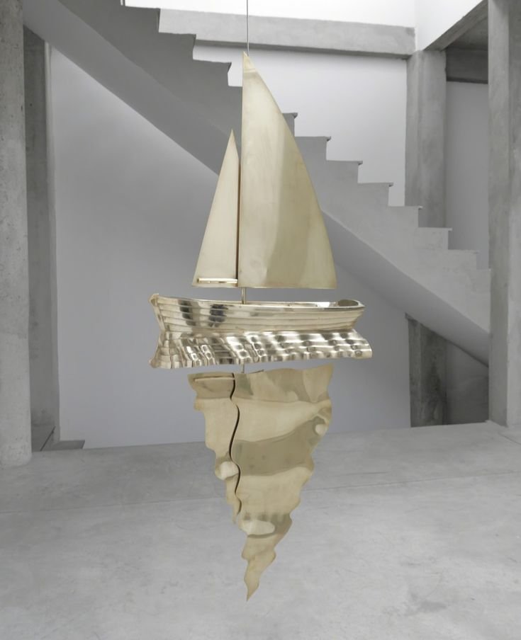 Leandro Erlich, Sailboat and reflection, 2014, Ruth Benzacar Galería de Arte