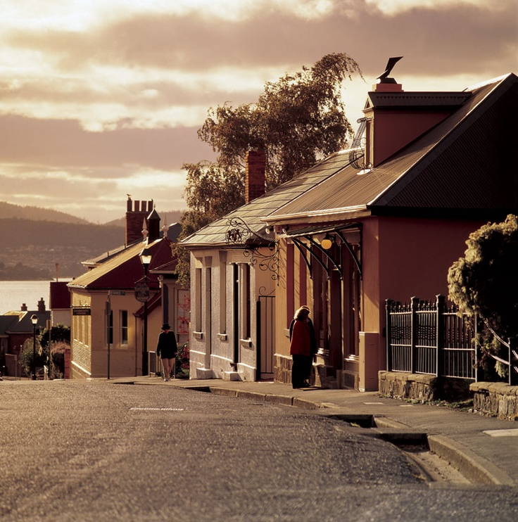 Battery Point, Hobart, Tasmania, Australia