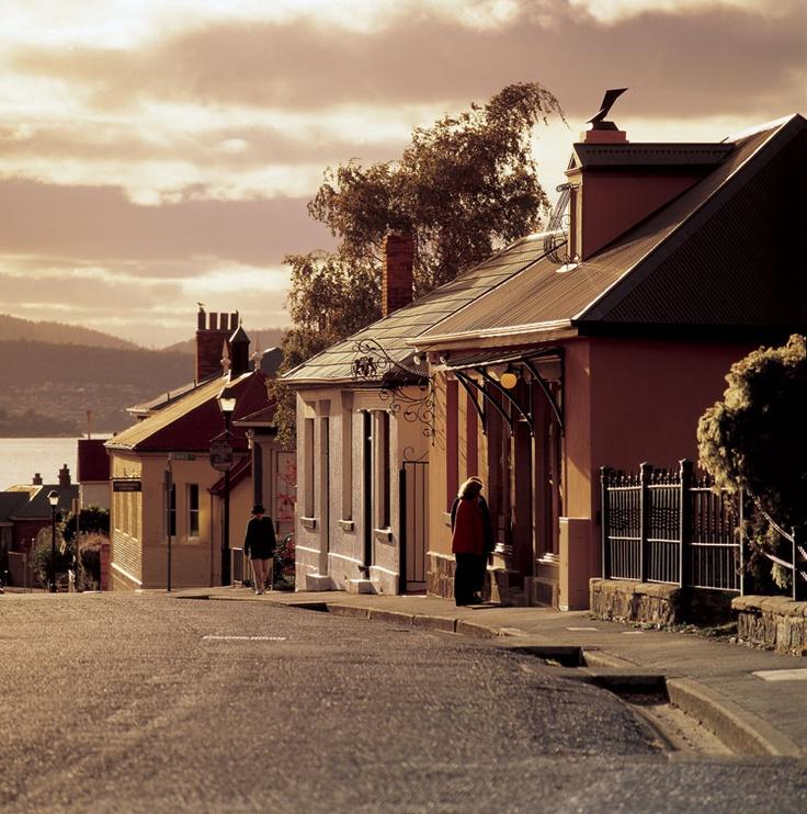 Battery Point, Hobart, Tasmania, Australia