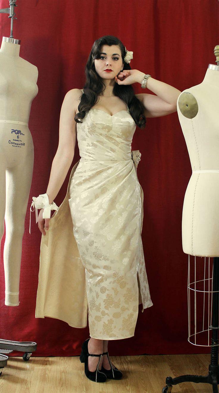 Robe de soirée robe de bal robe pinup robe sarong robe