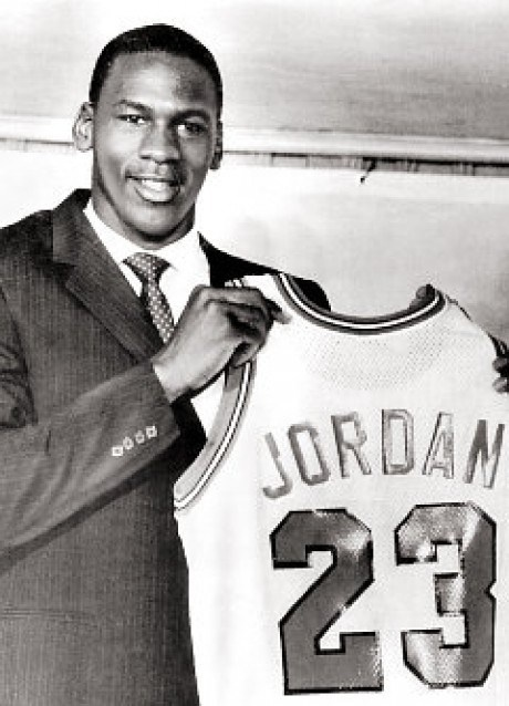 Dave...Michael Jordan Chicago Bulls NBA Draft #NBA #Draft
