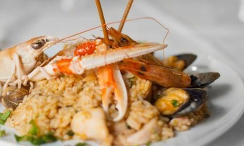 #Menu di pesce con bottiglia di vino (sconto  ad Euro 39.90 in #Groupon #Fish restaurant1