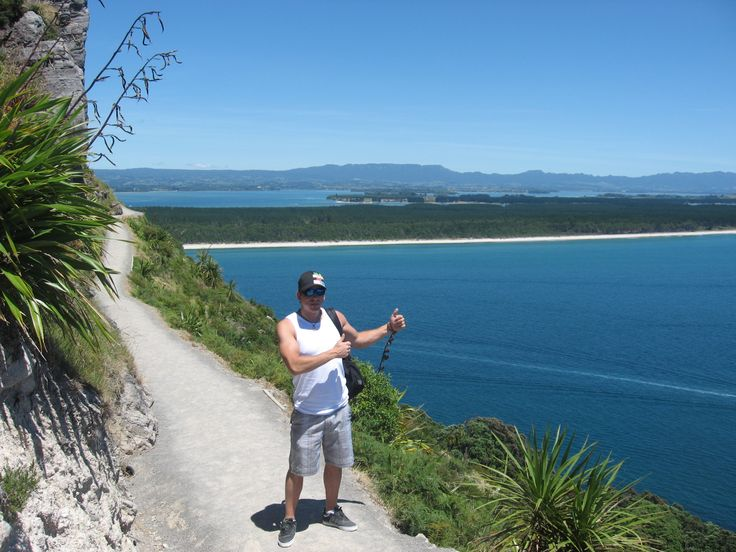 View from the middle of  the Mt Maunganui