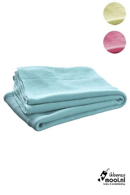 Jollein deken ledikant gebreid 100 x 150 cm - Ikbenzomooi.nl