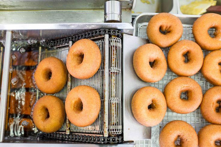 The doughnuts at Federal Donuts.