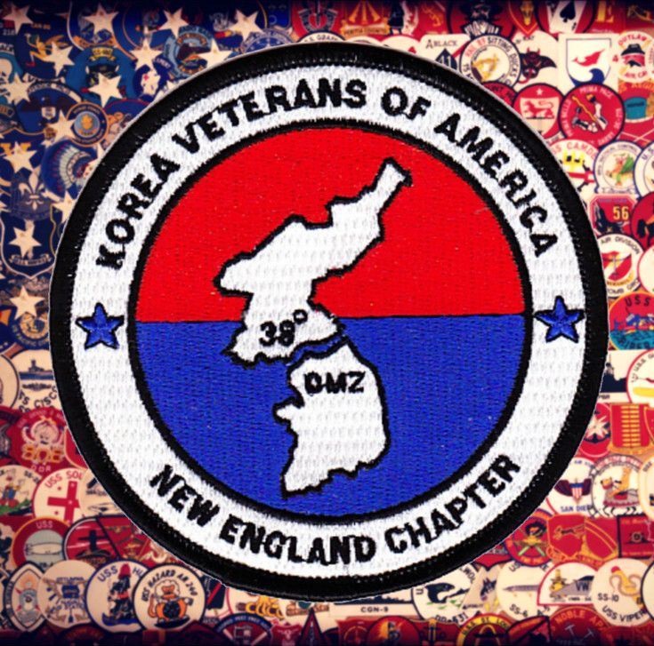 New England Chapter United States Armed Forces Korea Veterans of America Military DMZ 38 degrees Patch