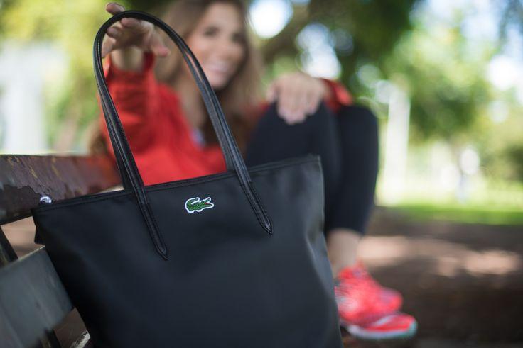 Look - Fit look | SulianeVieira.com |  Bolsa Lacoste