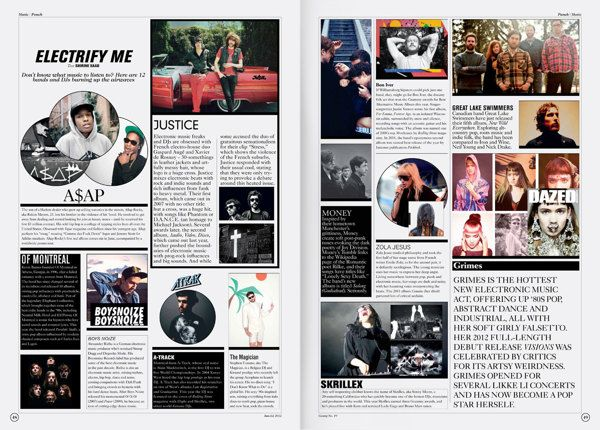 Gossip Magazine by Laurent Saad, via Behance