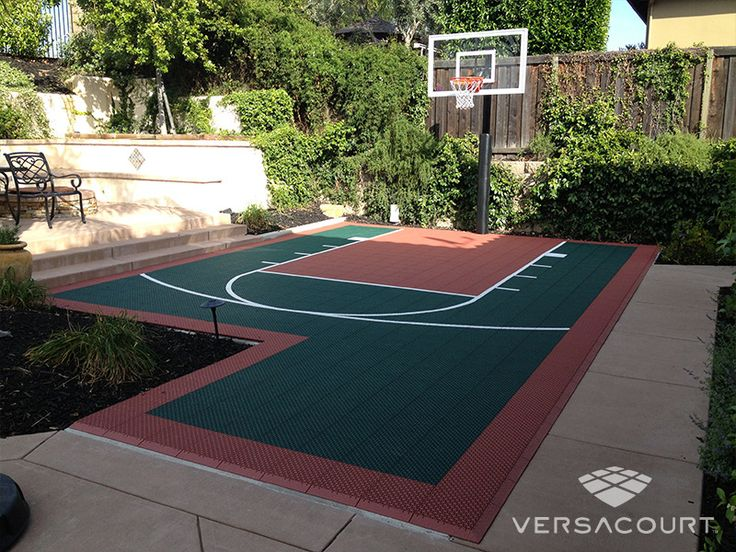 Best 25 backyard basketball court ideas on pinterest for Custom indoor basketball court