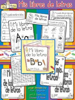 Bilingual Preschool and Kindergarten Booklets