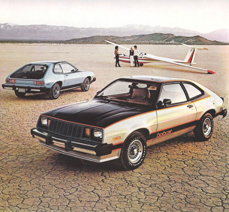 In the seventies the world had two different Ford cars on the same wheelbase, the Escort and the Pinto/Bobcat.  They thought North America needed a different car than the rest of the world, but imports sedans were selling really well.    Here are six pages from brochures for both models.