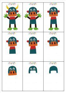 Gros Cornichon : mettre les images du cornichon dans l'ordre – MC en maternelle