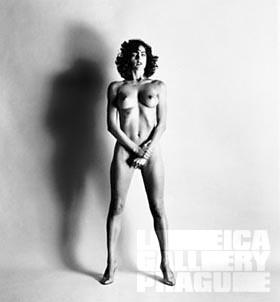 Helmut Newton, Leica Gallery Prague 2003