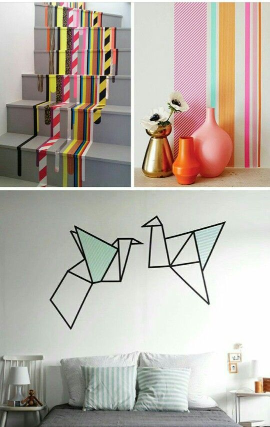 DIY - decorazione muri e scale