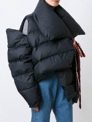 Marques'almeida oversized padded jacket