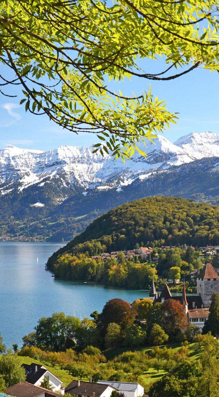 Ideal Die W lder Bergketten und Seen im Schweizer Kanton Bern sind beliebte Reiseziele von Urlaubern
