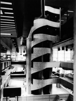 Interior del Banco de Londres y América del Sur