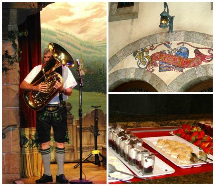 It is Always Oktoberfest in Epcot's Biergarten Restaurant in the World Showc…