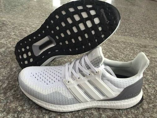 Free Shipping Only 69$ adidas Ultra Boost 2016 White Grey SiLVSer