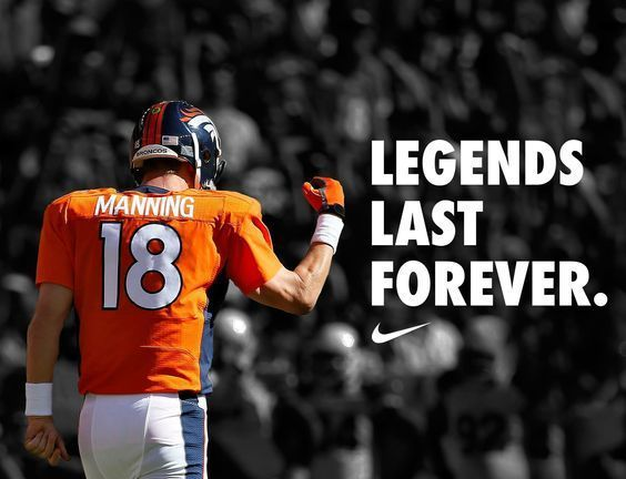I am a big fan of Peyton Manning and got to see him play 2 years ago before he retired.