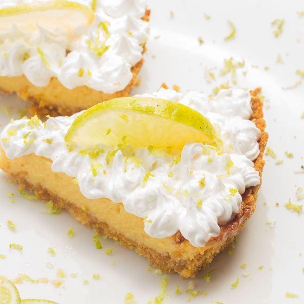 Tarte au citron meringuée sur fond de Petit Beurre®