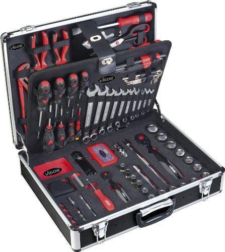 http://ift.tt/1TNSySw Vigor V2542 Werkzeug-Koffer inklusiv Sortiment 143-teilig @salesiiju@