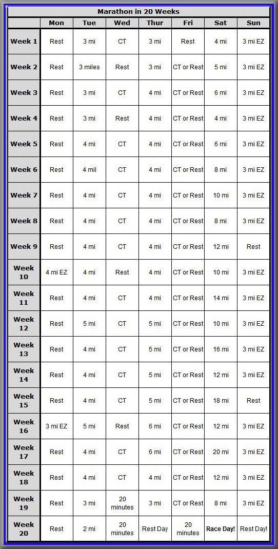 Best  Training Schedule Ideas On   Weekly Workout