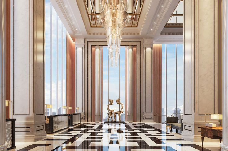 Langham Residence, Jakarta   Find more inspiring lighting designs and solutions for your hospitality projects at Unique Blog http://delightfull.eu/blog/