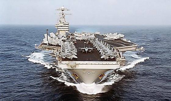 USS아이젠하워(니미츠급 항공모함) :: 네이버캐스트