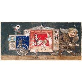Paolo Fresu, Il Burattinaio Serigrafia e collage #gliartistidiGALP