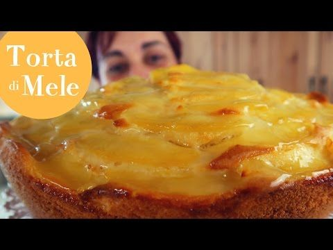 TORTA DI MELE SOFFICE Yogurt & Vaniglia Ricetta Facile - Soft Apple Cake Easy recipe - YouTube