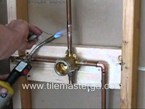 Knob Plumbing Fixture For Mobile Home Shower