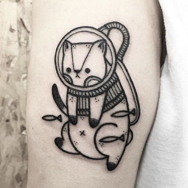 21 Catchy Black Ink Tattoos Designs By Hugo: 220 Best Cat Tattoo Images On Pinterest
