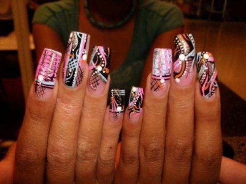 25 unique crazy nail designs ideas on pinterest crazy nails crazy nail designs you will love prinsesfo Choice Image