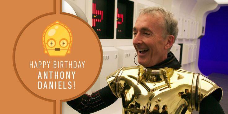 Happy Birthday Anthony Daniels!http://ift.tt/2CzjbYQ