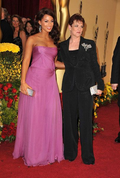 Alicia Keys and Mom, Teresa.