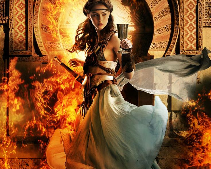 "by Larry Rostant.  Cover of ""The BItter Kingdom"" (French Edition) by Rae Carson"