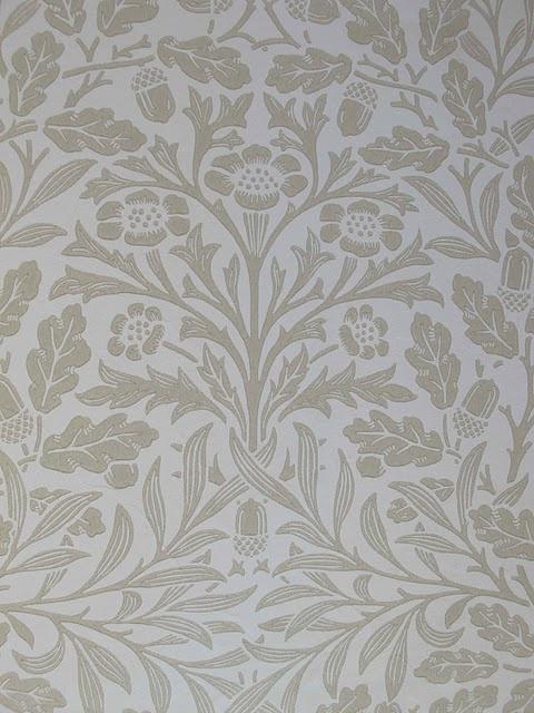 "William Morris ""Chrysanthemum"" pattern"