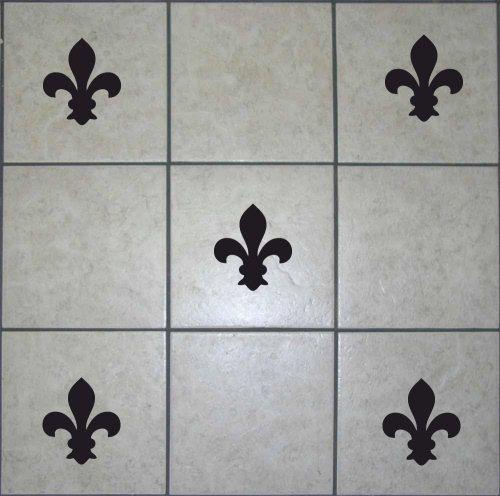 20 FLEUR DE LYS Tile Transfers Decals Wall Art By TopWallStickers