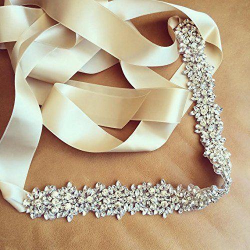 Bridal-Sash-Rhinestone-Sash-Belt-Crystal-Wedding-Dress-Ribbon-Belt-17-7-2-inch