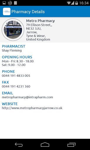 Metro Pharmacy is based in Tyne & Wear. We are an independently owned pharmacy serving the local community for the last 25 years. We are located in the heart of Jarrow town centre in close proximity to Palmers community hospital. We offer a free prescription collection & delivery service from all doctors surgeries in Jarrow Hebburn and South Shields. <br>  <br>At Metro Pharmacy we aim to bring piece of mind that your health is in good hands. We provide over 8000 products at Super market…